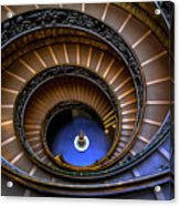 Vatican Staircase Acrylic Print