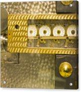 Vault Door Timing Device Acrylic Print