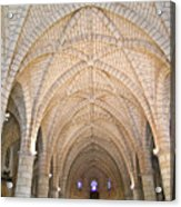 Vaulted Ceiling And Arches Acrylic Print