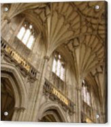 Vaulted Ceiling Acrylic Print