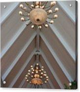 Vaulted Lights Acrylic Print