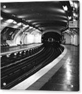 Vavin Station Paris Metro Acrylic Print