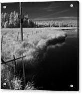 Vay Road Ditch 6 Acrylic Print