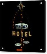Vegas Motel  Acrylic Print