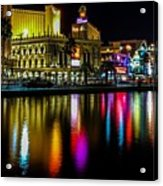 Vegas Reflections Acrylic Print