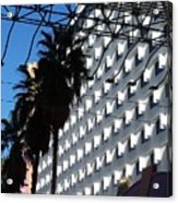 Vegas Shadows Acrylic Print