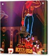 Vegas Vic Acrylic Print