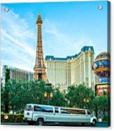 Vegas Vip Acrylic Print