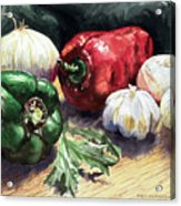 Vegetable Golly Wow Acrylic Print