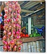 Vegetable Stand 2 Acrylic Print