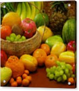 Vegetables And Fruits  Acrylic Print