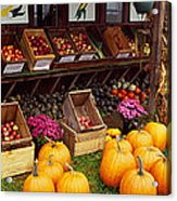 Vegetables In A Market, Grand Rapids Acrylic Print