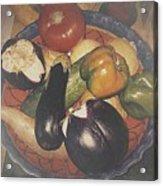 Vegetables Still Life Acrylic Print