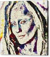 Vegged Out She Acrylic Print
