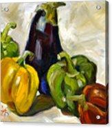 Veggie Delight Acrylic Print