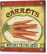 Veggie Seed Pack 4 Acrylic Print