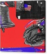 Vehicle Liberty Bell Paul Revere Flag Bicentennial Of Constitution Tucson Arizona 1987-2015 Acrylic Print