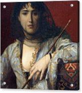Veiled Circassian Lady Acrylic Print