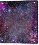 Vela Supernova Remnant In The Center Acrylic Print