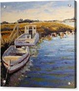 Veldrift Boats Acrylic Print by Yvonne Ankerman