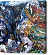 Velebit Paklenica Canyon Acrylic Print