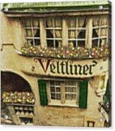 Veltliner Keller Acrylic Print
