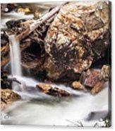 Velvet Falls - Rocky Mountain Stream Acrylic Print