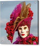 Dressed Up, Venice  Acrylic Print
