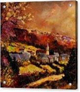 Vencimont Village Ardennes  Acrylic Print