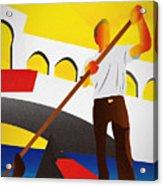 Venecia Art Deco Acrylic Print