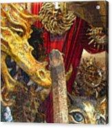 Venetian Animal Masks Acrylic Print