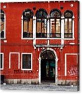 Venetian Architecture Acrylic Print