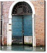 Venetian Door Acrylic Print by Italian Art