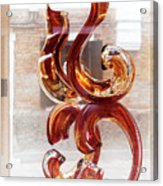 Venetian Glass Style Acrylic Print