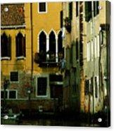 Venetian Gold Acrylic Print