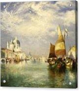 Venetian Grand Canal Acrylic Print