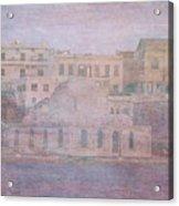 Venetian Harbour, Chania Acrylic Print