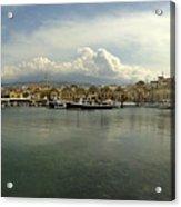 Venetian Harbour Hania Acrylic Print