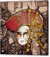 Venetian Mask Acrylic Print