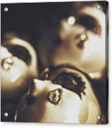 Venetian Masquerade Mask Rings Acrylic Print