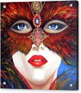 Venetian Tigress Acrylic Print
