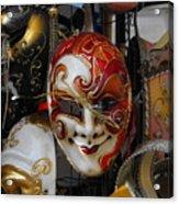 Venezian Masks Acrylic Print