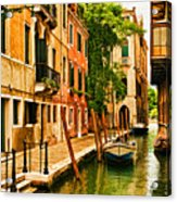 Venice Alley Acrylic Print