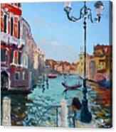 Venice  Aspetando Acrylic Print