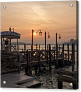 Venice At Sunset Acrylic Print