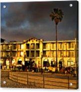 Venice Beach. Golden Sunset Acrylic Print