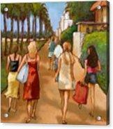Venice Beach Promenade Acrylic Print