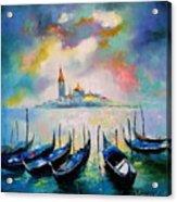 Venice Before The Rain Acrylic Print