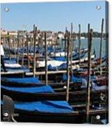 Venice Cab Stand Acrylic Print