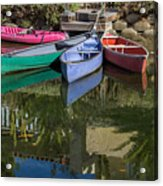 Venice Canal Reflections Acrylic Print